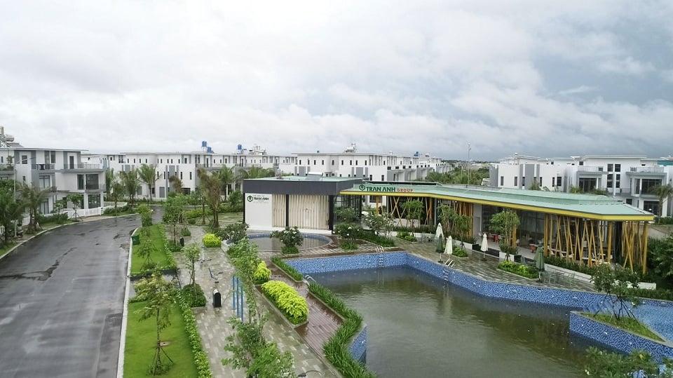 Hình ảnh thực tế trong khu đô thị Bella villa