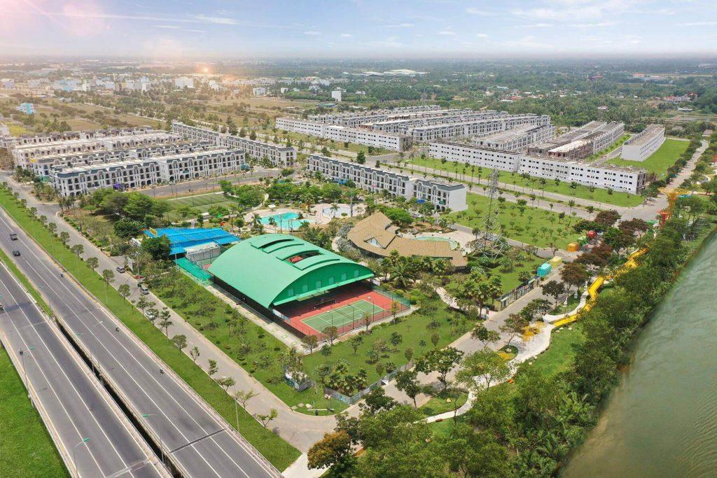 Hình ảnh thực tế toàn cảnh lavilla green city