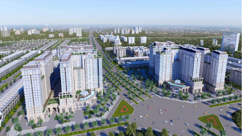 Khu đô thị La Villa Green City tại trung tâm TP. Tân An do Tran Anh Group phát triển