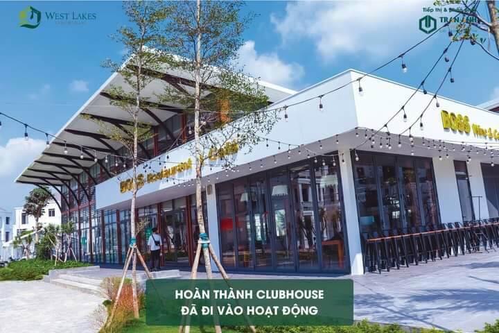 Club house dự ánCafe- Hầm rựu - Hồ bơi...