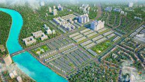 Nhiều dự án được đầu tư với hệ thống công viên cây xanh rộng lớn, thân thiện với môi trường
