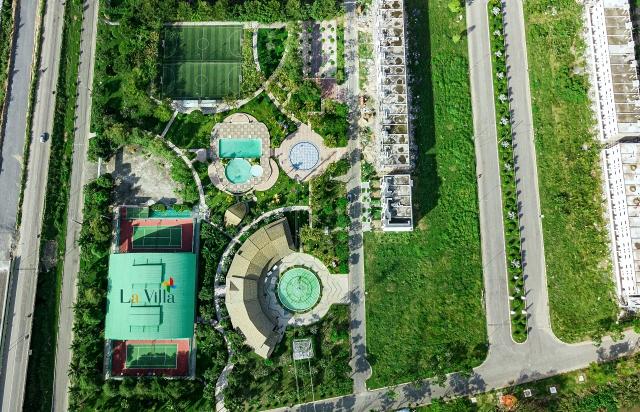 Dự án La Villa Green City có vị trí đắc địa khi nằm ở ngay khu trung tâm hành chính tỉnh mới.
