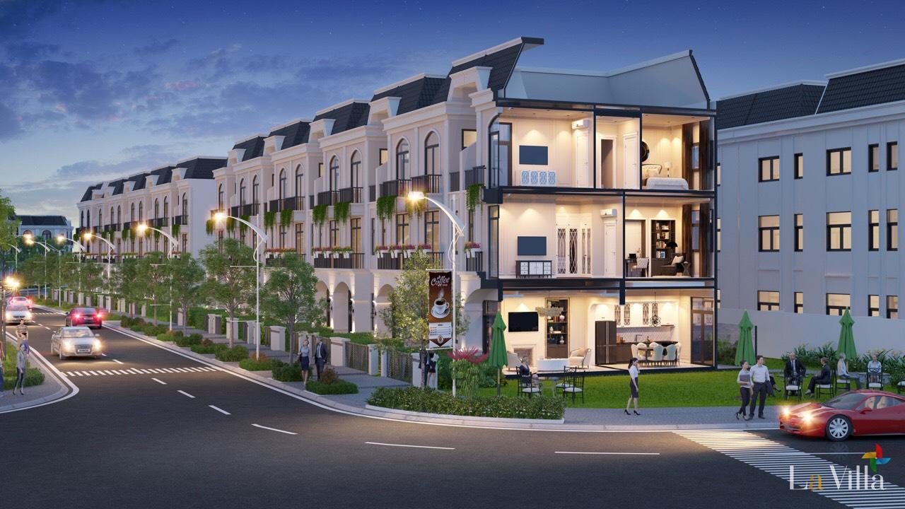 Dự án La Villa Green City được tái hiện theo phong cách châu Âu giữa trung tâm TP Tân An