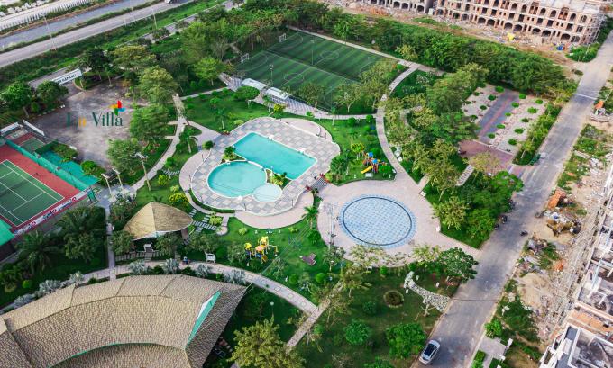 Một số hình ảnh tại dự án La Villa Green City.