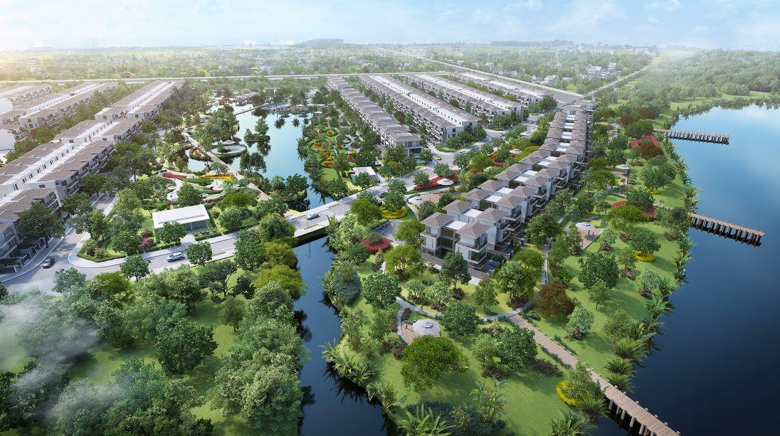 Phối cảnh tổng quan dự án khu đô thị La Villa Green City