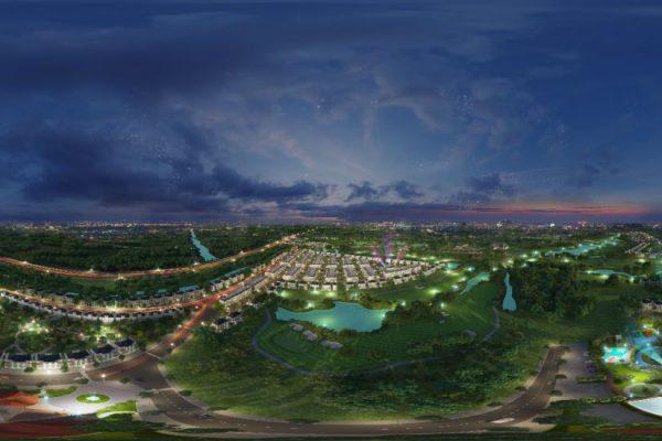 Biệt thự West Lakes có tầm view ôm trọn sân golf xanh mướt