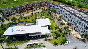 Khu club house dự án